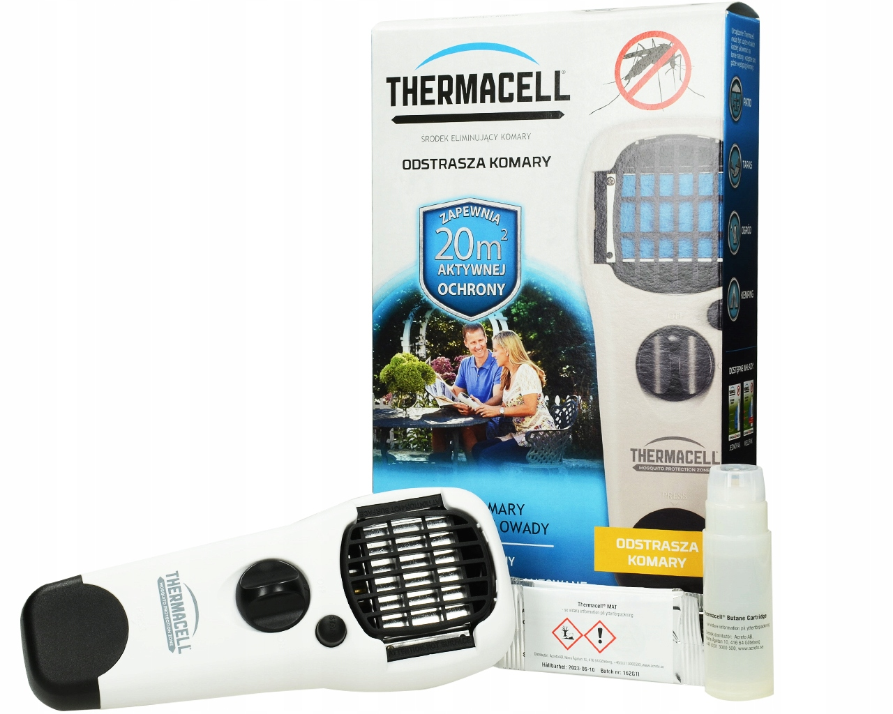 ZARIADENIE MOSQUITO REPELLER THERMACELL MR150