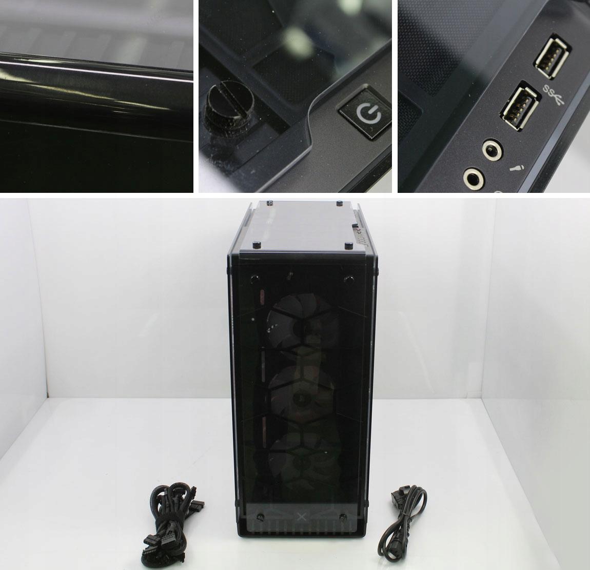 OUTLET x-kom G4M3R 600 i7 32G 250+500SSD GTX1080Ti Wielkość pamięci RAM 32 GB