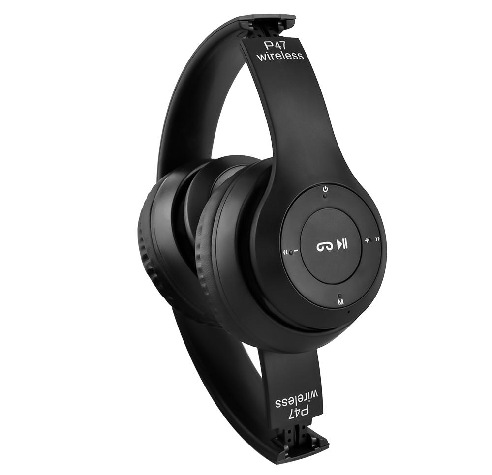 Bezdrátová sluchátka Bluetooth Mikrofon FM MP3 Šířka produktu 18 cm