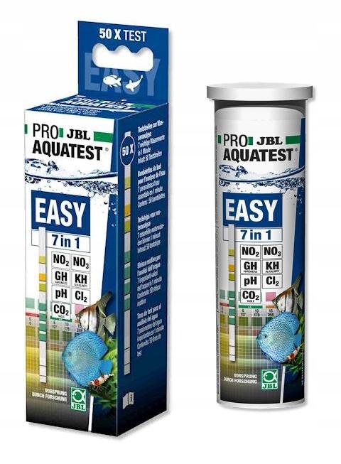 JBL Easy Тест 7in1 pH GH KH NO2 NO3 CL2 СО2 50шт