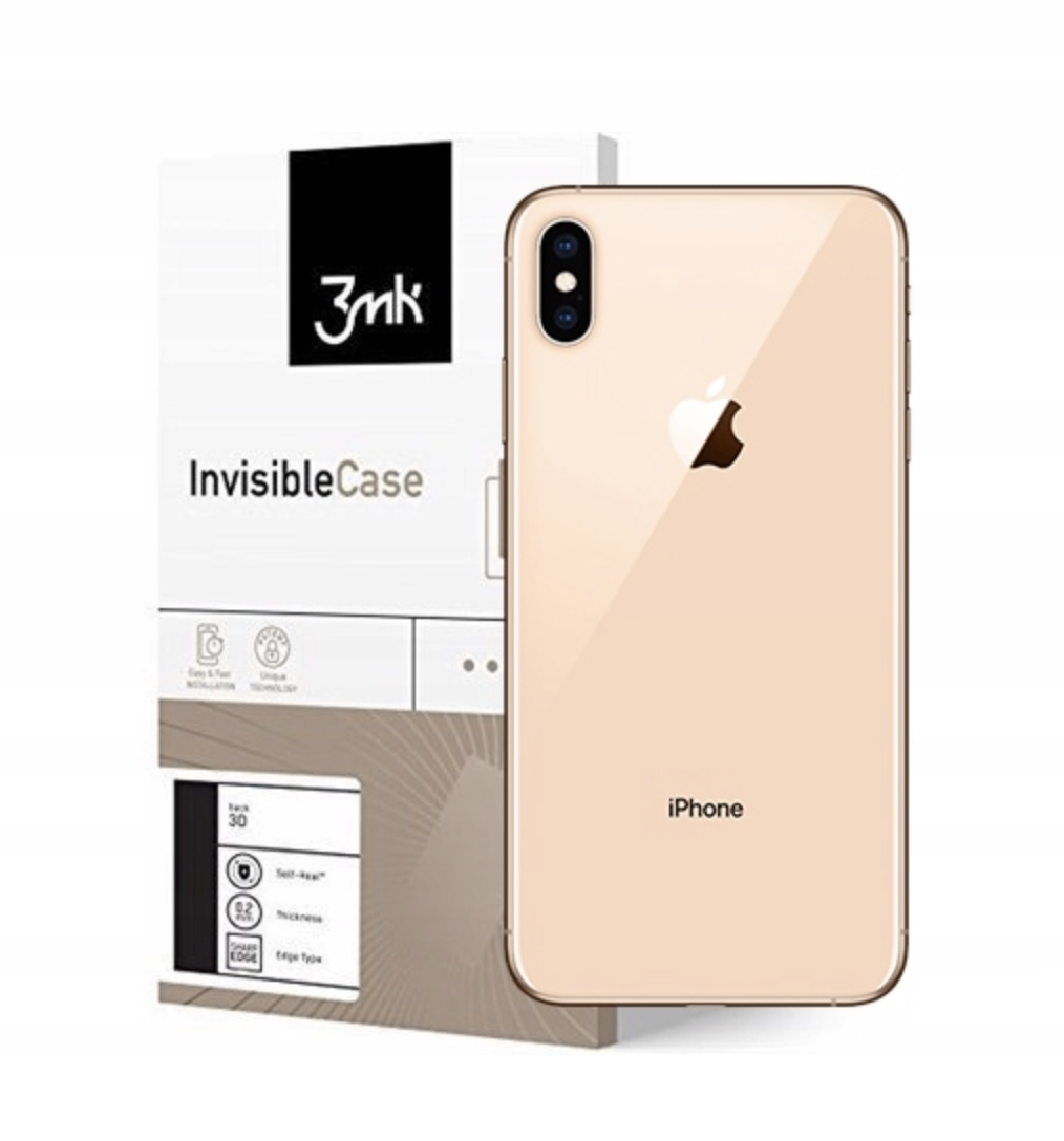 3MK InvisibleCase iPhone X Xs Folia Tył Boki