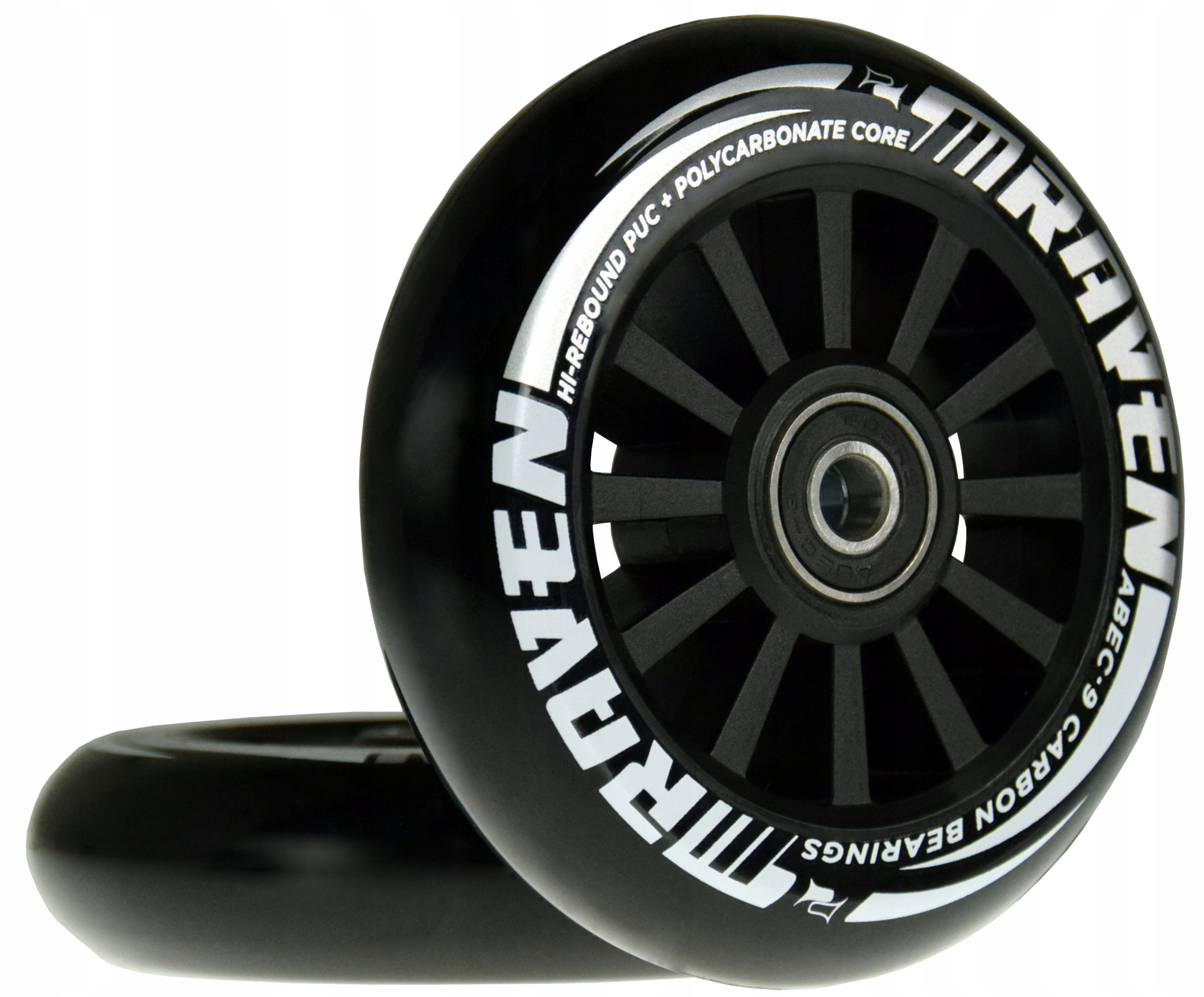Купить Колеса для самокатов RAVEN Slick Black 100мм 2шт на Otpravka - цены и фото - доставка из Польши и стран Европы в Украину.