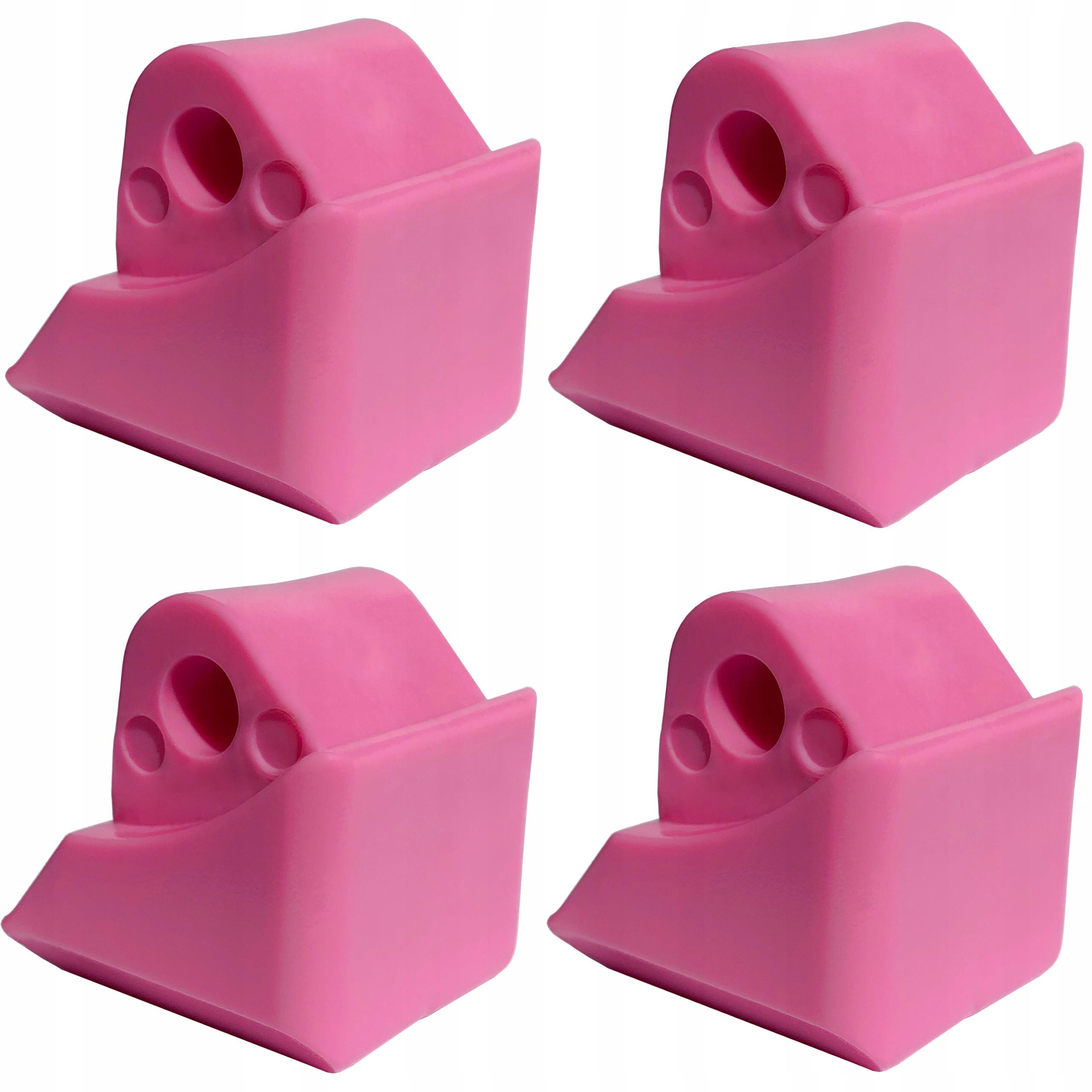 Brzda pre Raven Laguna XS ružové PVC 4ks