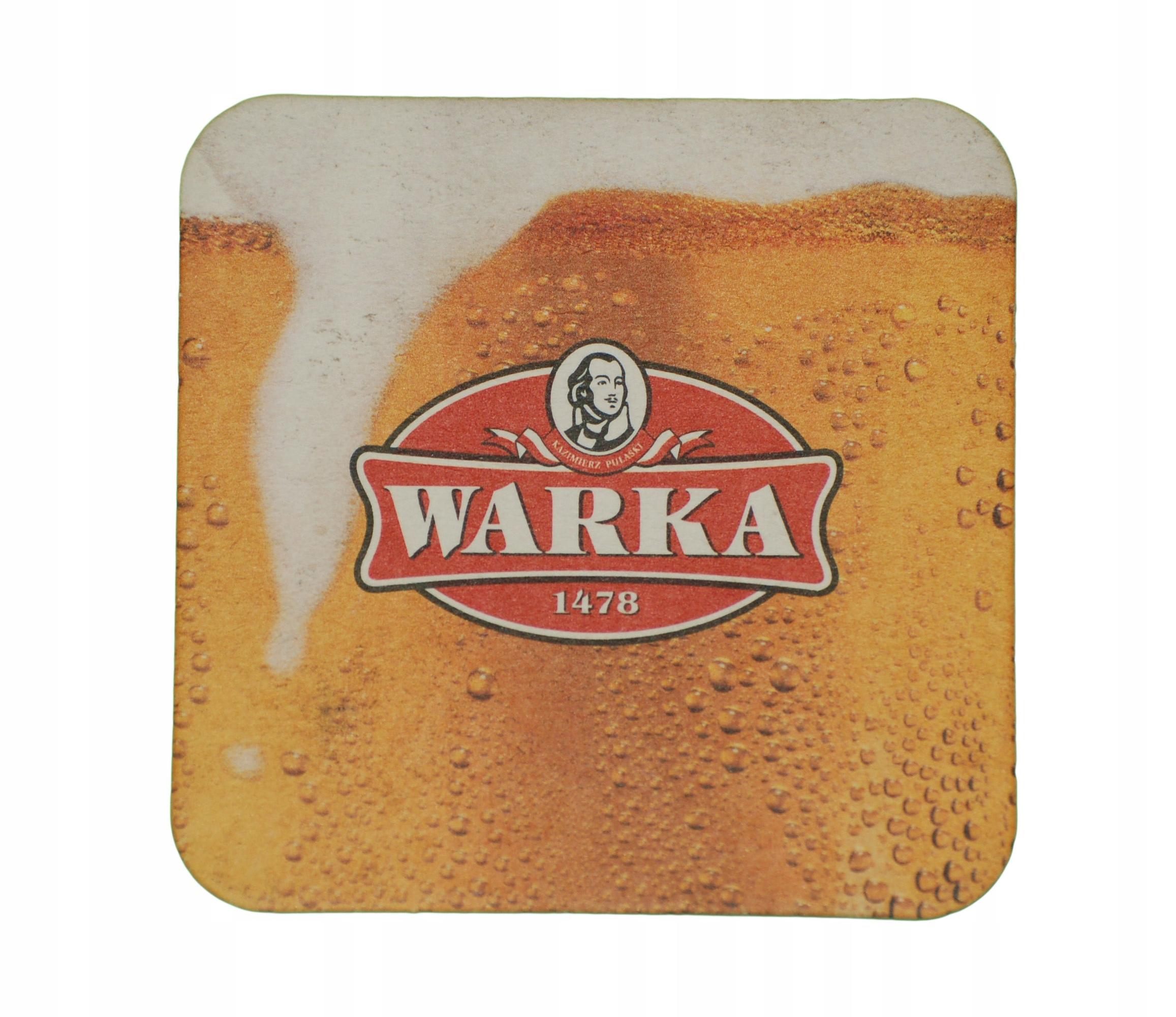 Купить Пивная подставка для вафель WARKA BEER на Otpravka - цены и фото - доставка из Польши и стран Европы в Украину.