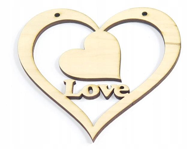 Heart Heart Dekor Láska na Valentína deň Ye56