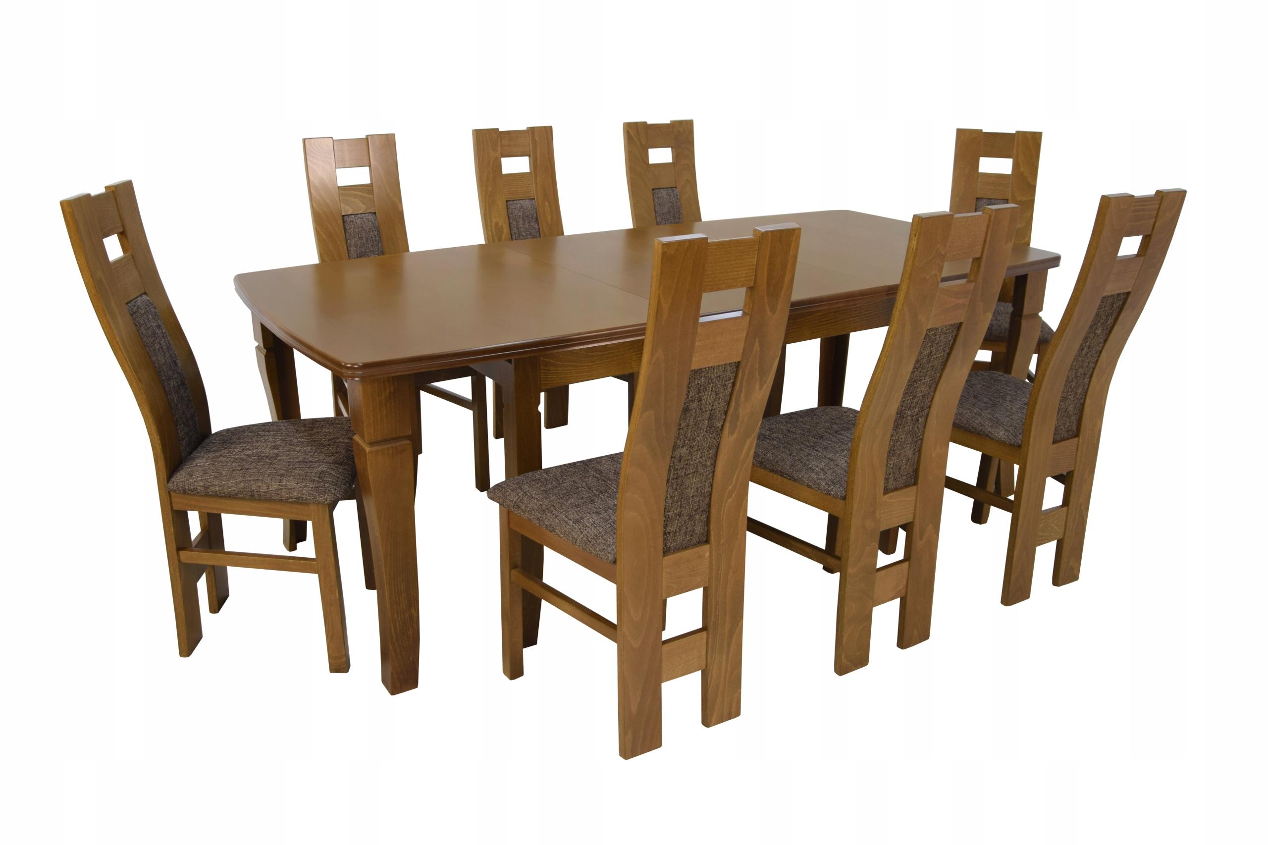 8 stoličiek a skladací stôl až 4 m Dvojité nohy