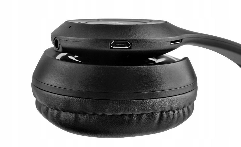 Bezdrátová sluchátka Bluetooth Mikrofon FM MP3 Polootevřený design