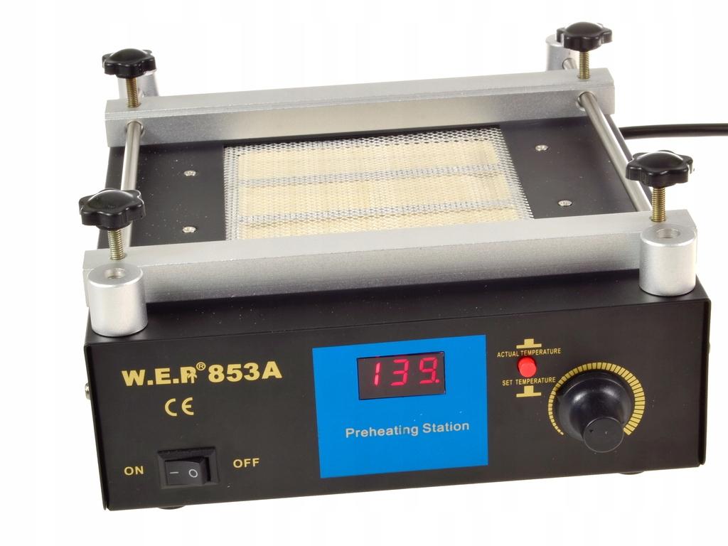 Kremenný ohrievač WEP 853A infračervený