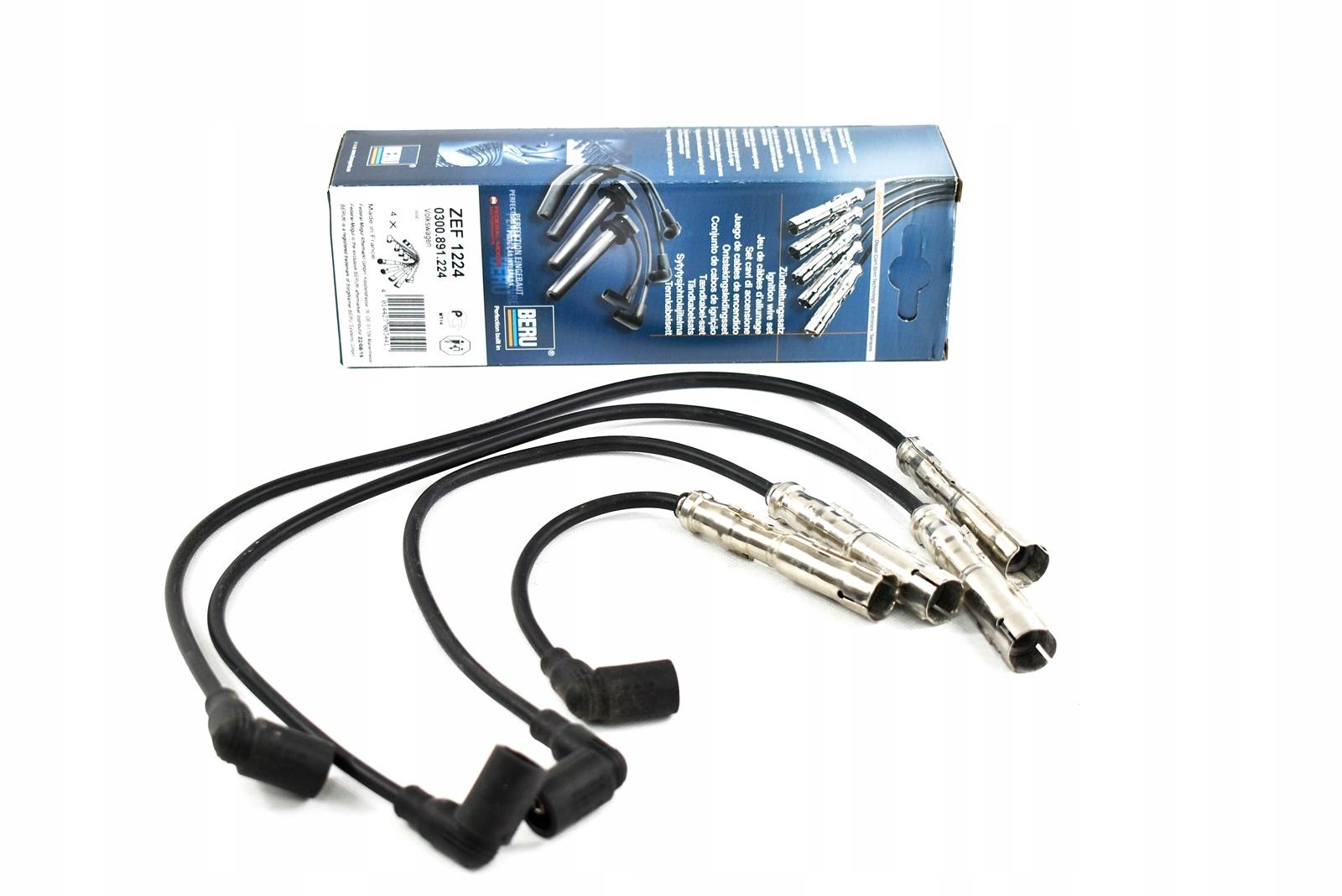 beru провода кабели зажигания vw passat b5 16 20
