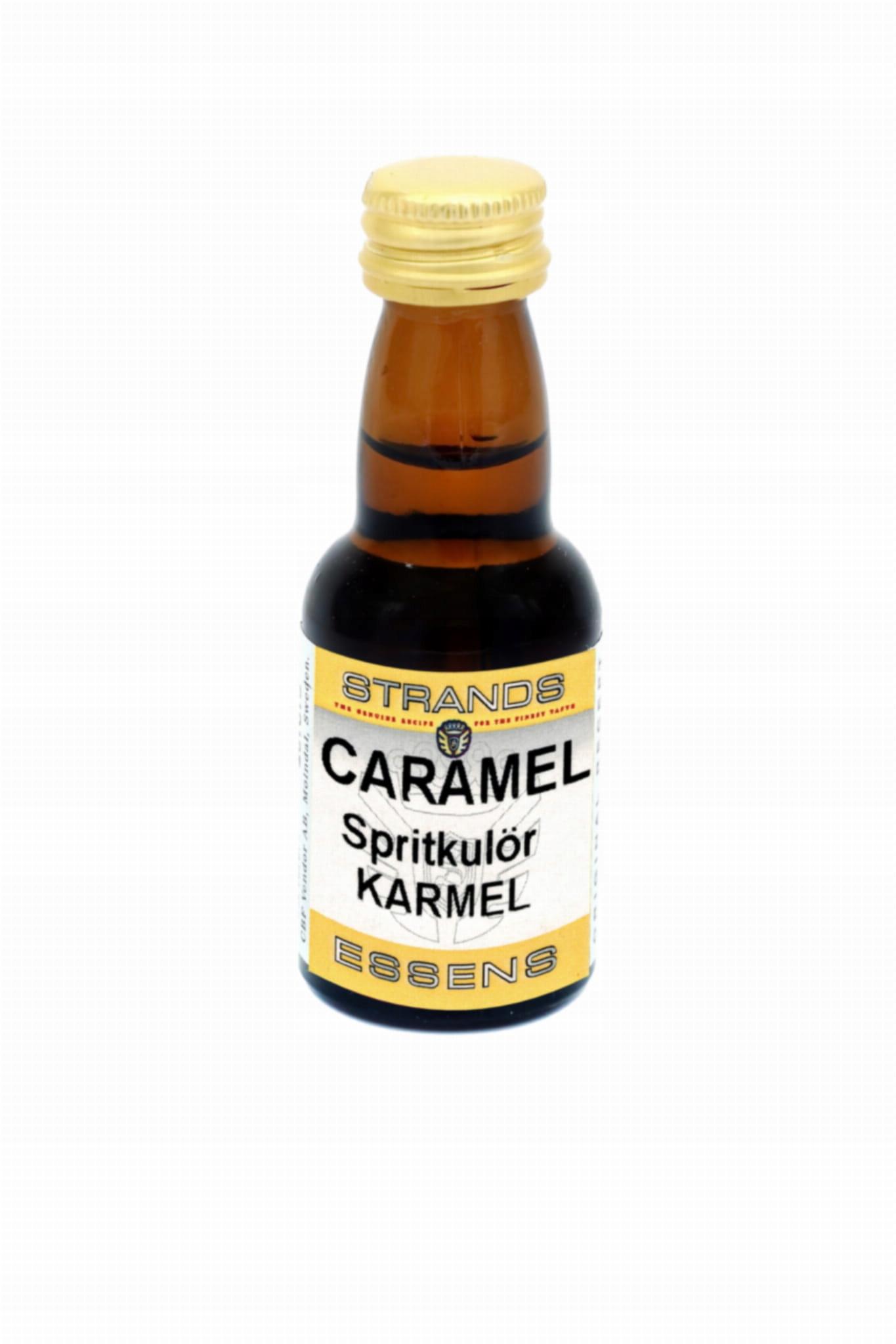 Zaprawka do alkoholu barwnik KARMEL CARAMEL 25ml
