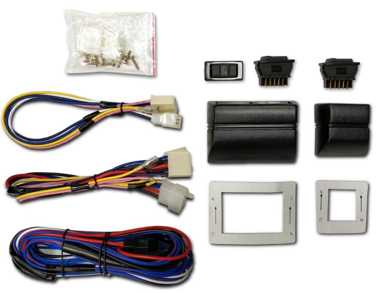 комплект переключателей выключателей стекол электрических
