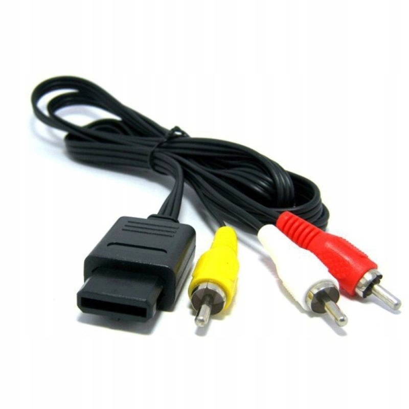 Item Audio video cable for N64 GameCube NGC SNES AUDIO VIDEO