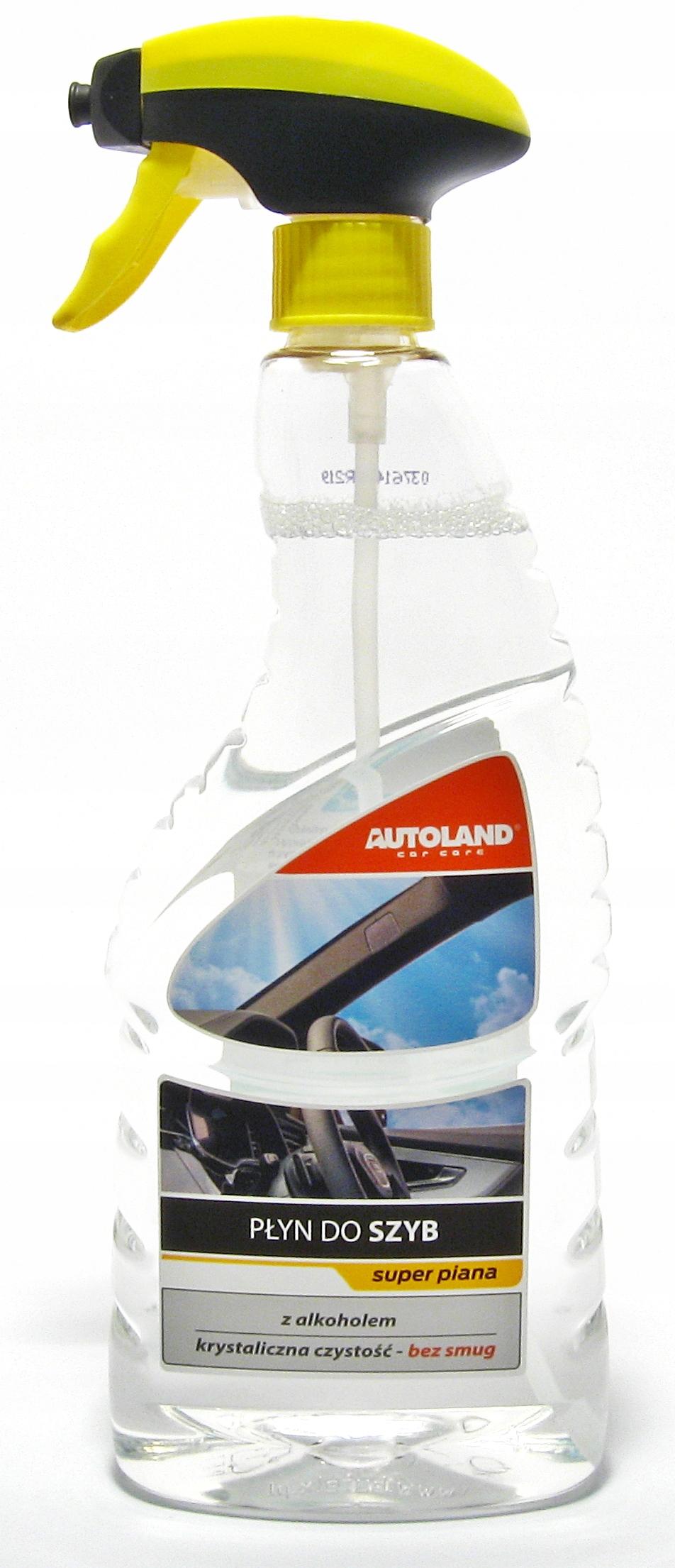 Autoland - жидкость для мытья стекол, зеркал, 750 мл