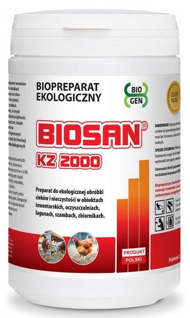 Biosan KZ 2000 1кг Бактерии Для Септиков Очистных сооружений