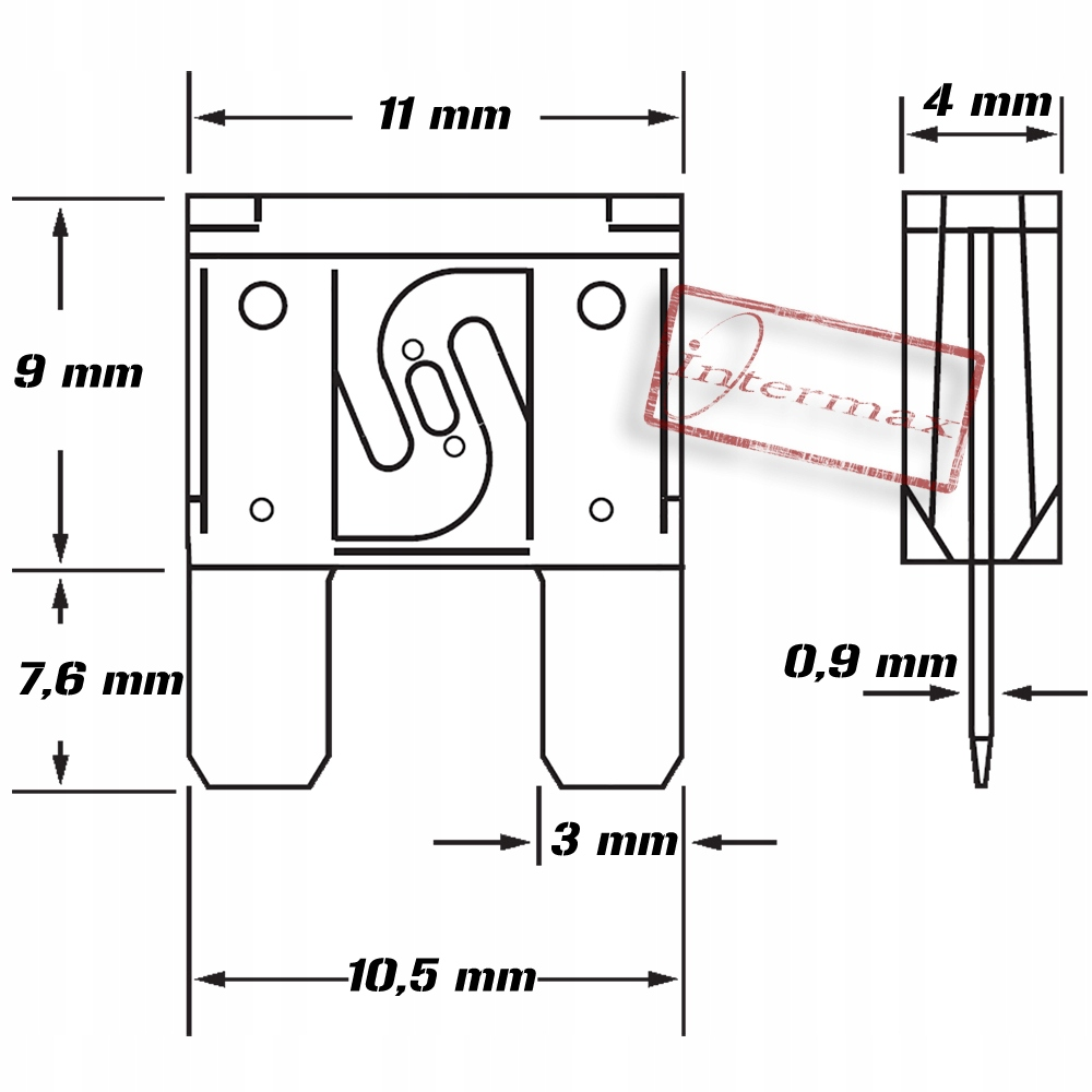 PROTECTOR MINI LAMIN FLAT 3A 11mm
