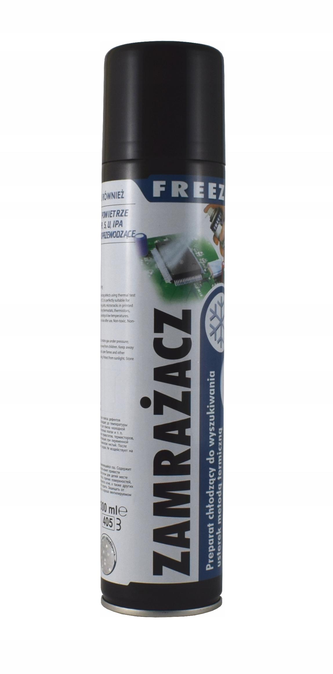 Системный freeze spray 300 мл -55`C -55C freezer AG
