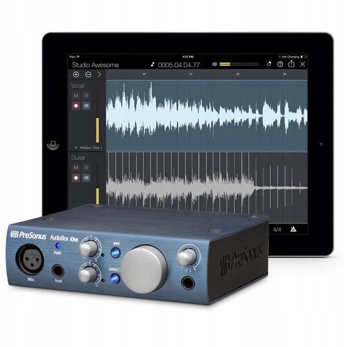 Купить PreSonus AudioBox iOne Mac PC Аудиоинтерфейс USB на Otpravka - цены и фото - доставка из Польши и стран Европы в Украину.