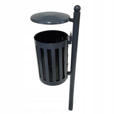 Урна для мусора OLCH круглая с крышей