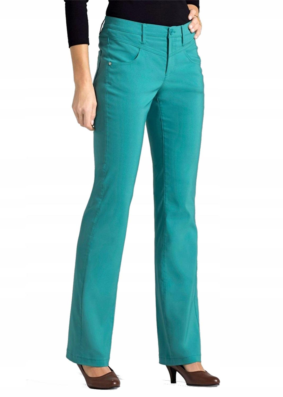 Bonprix śliczne nowe letnie zwężane spodnie 34 - S