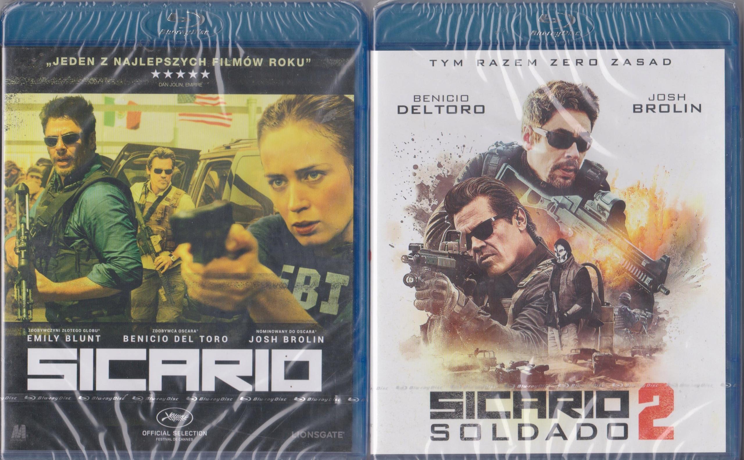 Item [BLU-RAY] SICARIO 1 + 2 (film)