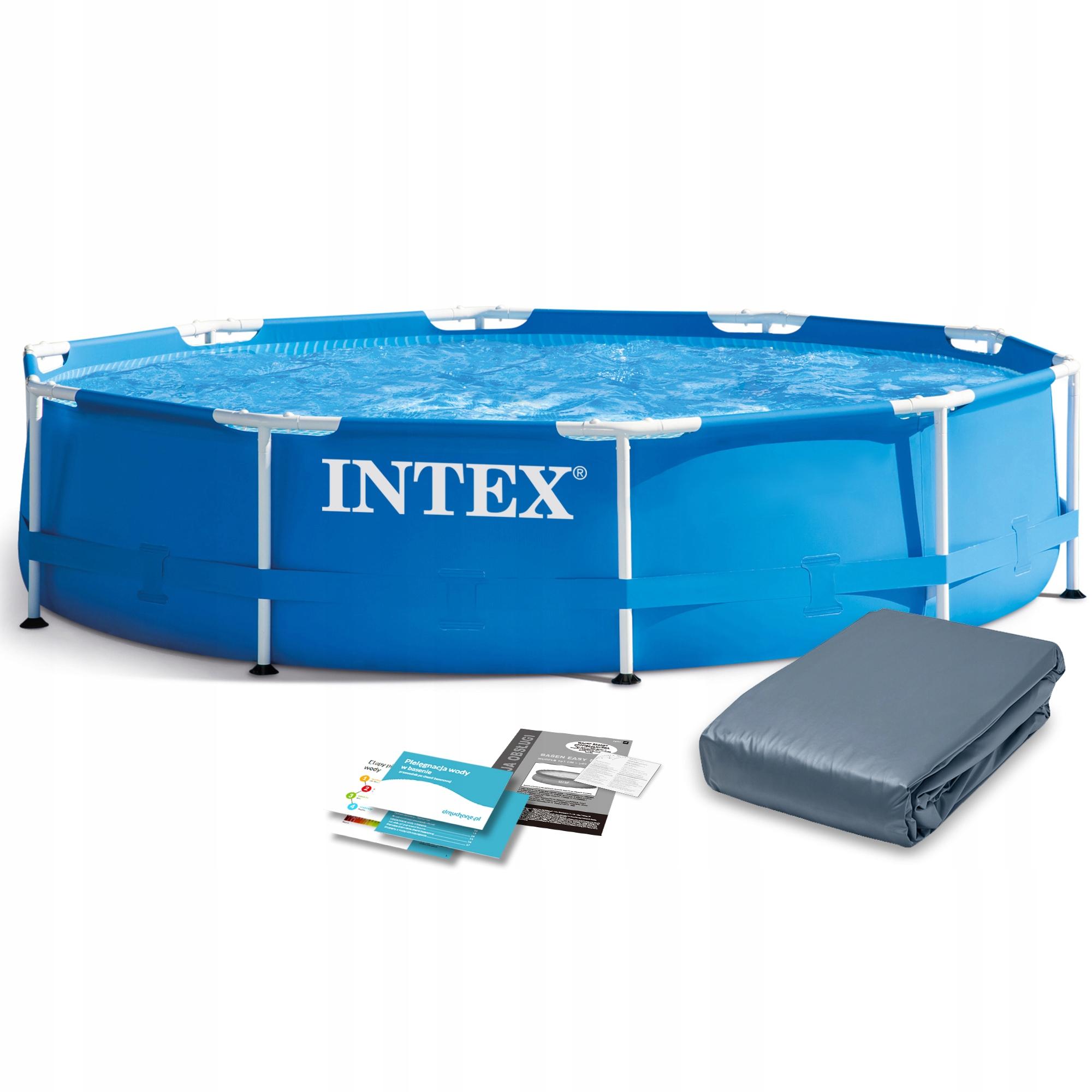 Садовый бассейн для монтажа в стойку INTEX 305x76 28200 6w1