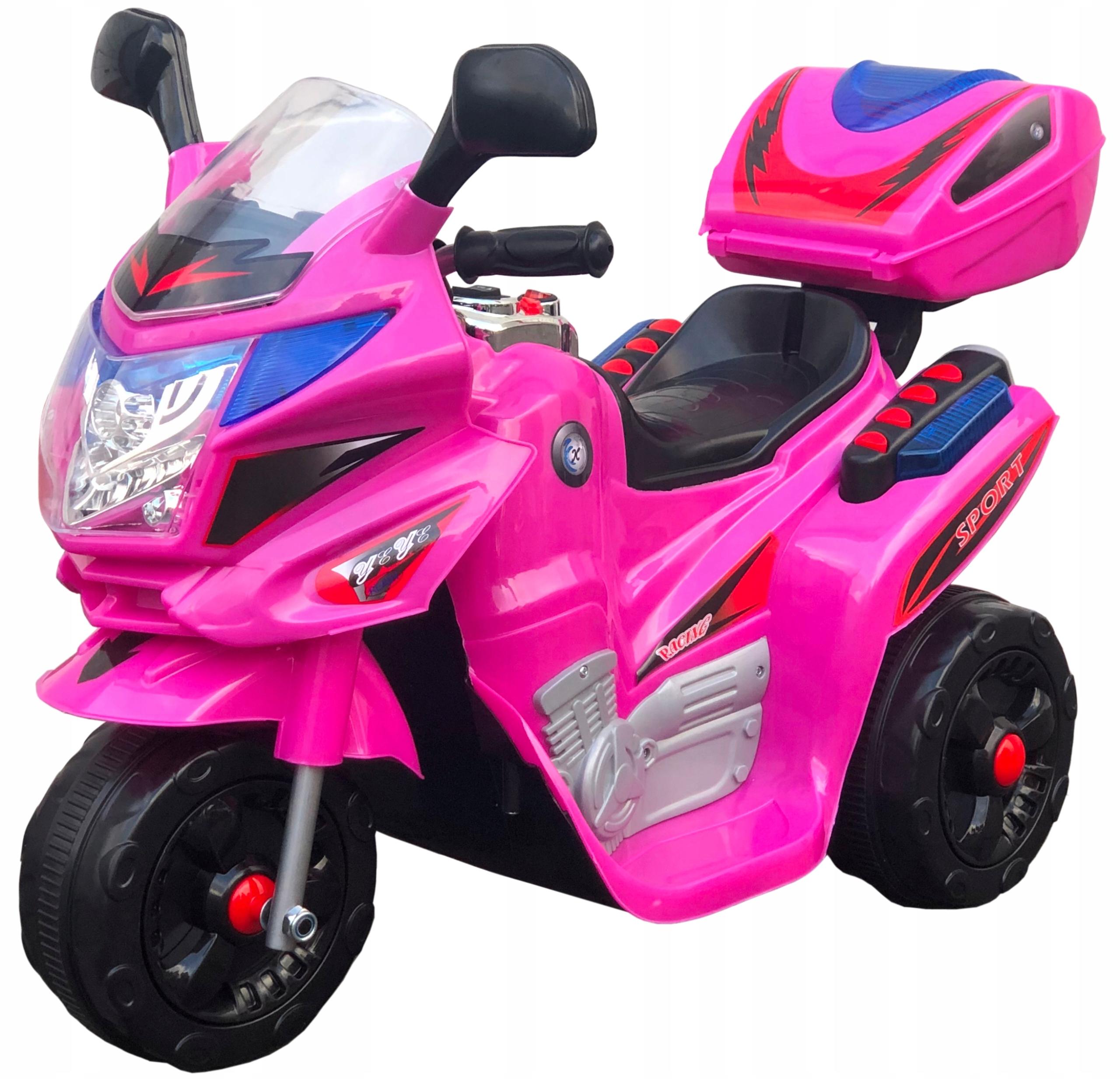 ŚCIGACZ MOTOR MOTOREK NA AKUMULATOR DLA DZIECI