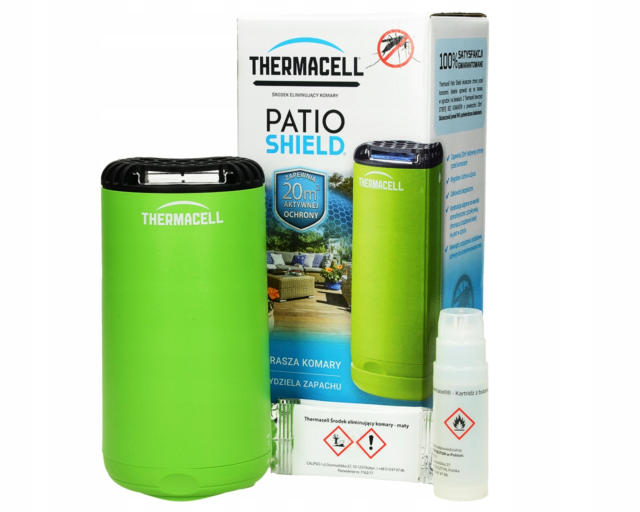 MOSQUITO REPELLER THERMACELL HMYZU V ZÁHRADE