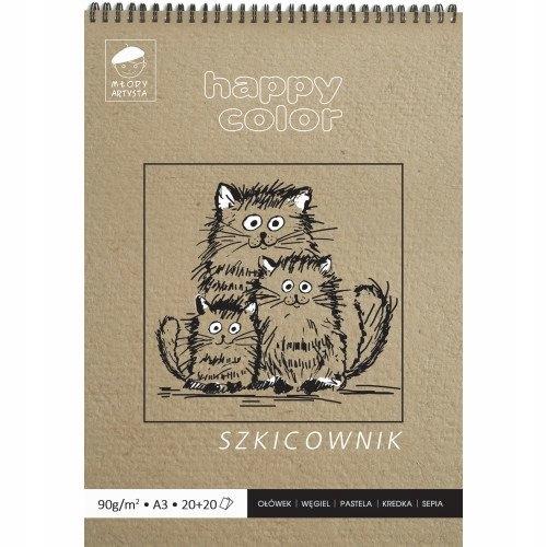 Happycolor SketchBook A2 40K 80/90G