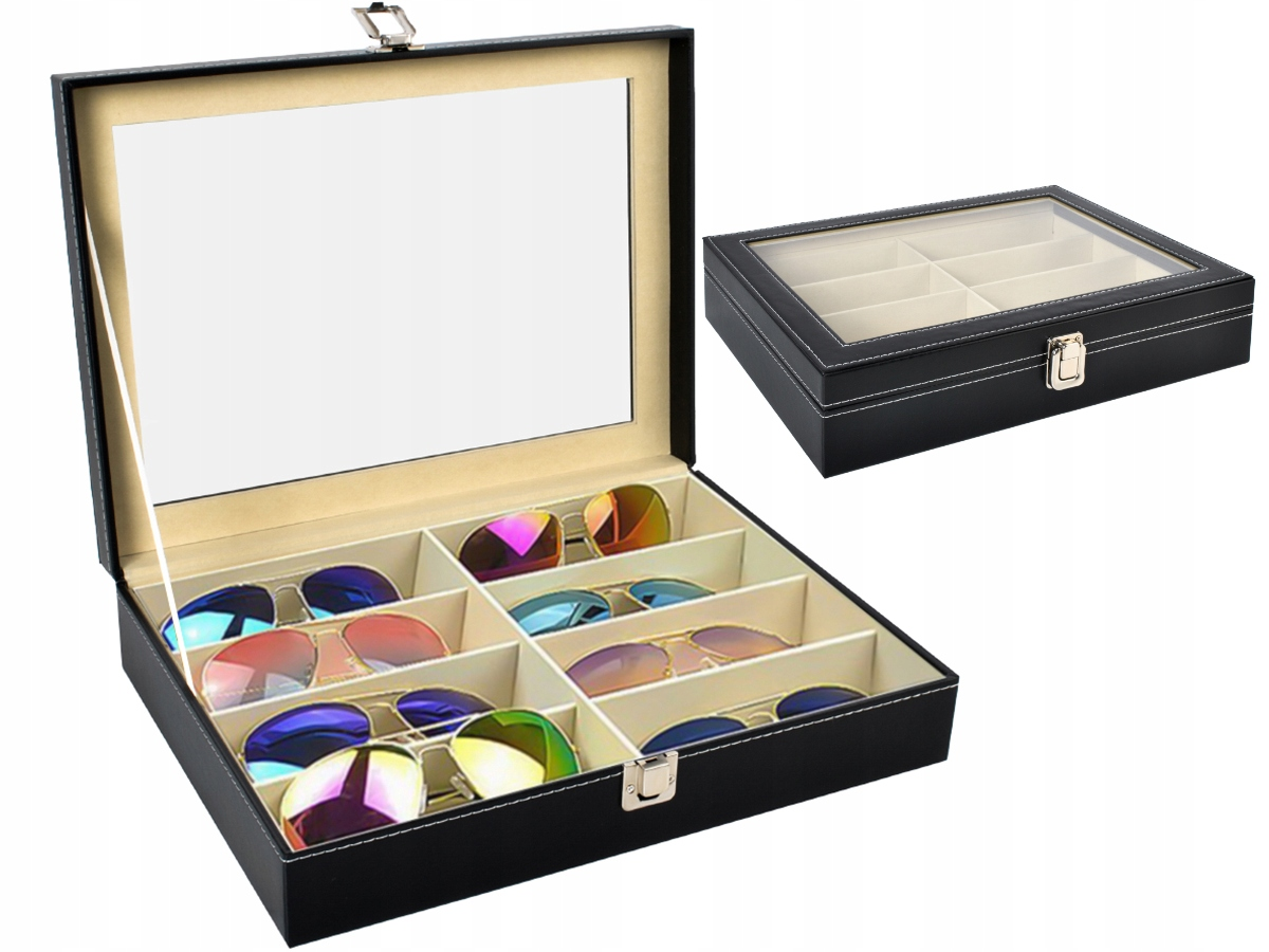 Item Organizer Box Case for Sunglasses 8 PCs Box