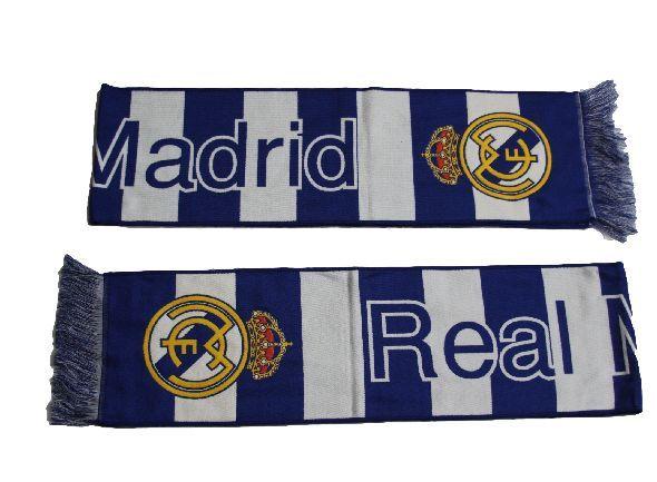 Real Madrid Madrid Scarf Shawl for Fan Striped