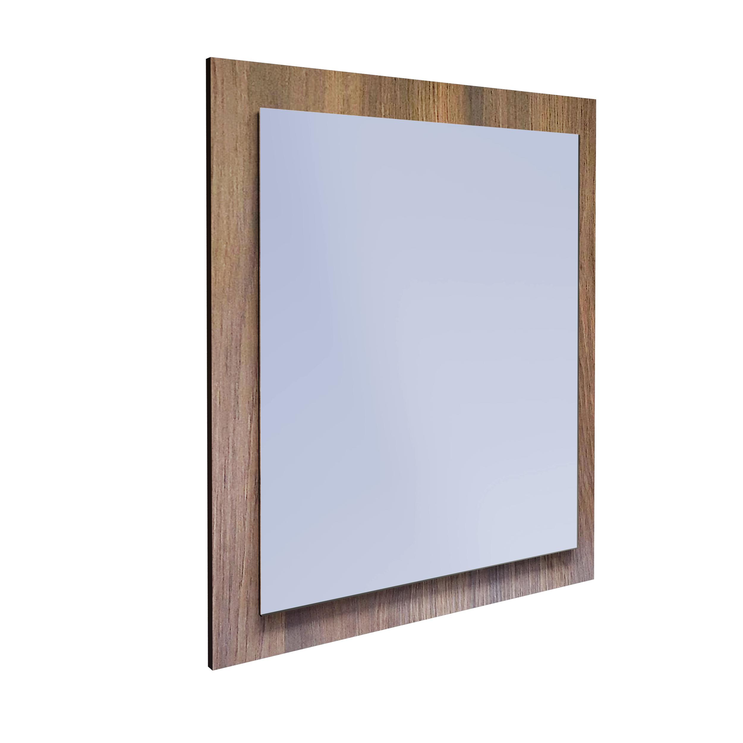 Zrkadlo pre Kúpeľňa Obojstranné 70x60 Dub Palermo