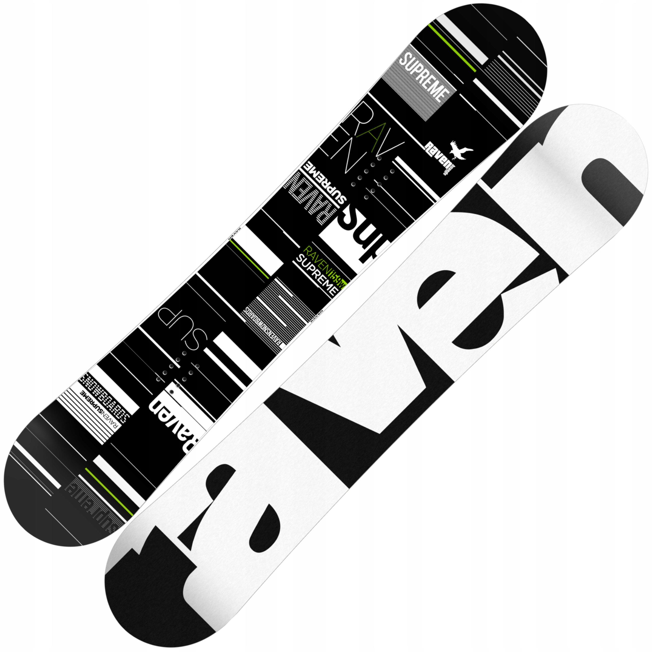 RAVEN Najvyššieho snowboard Zelená 158 cm Široký 2020