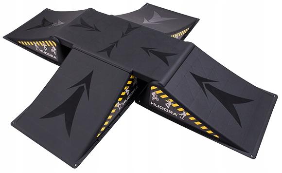 Рампа для прыжков stunt самокат скейт5el Hudora купить с доставкой из Польши с Allegro на FastBox 7844243071