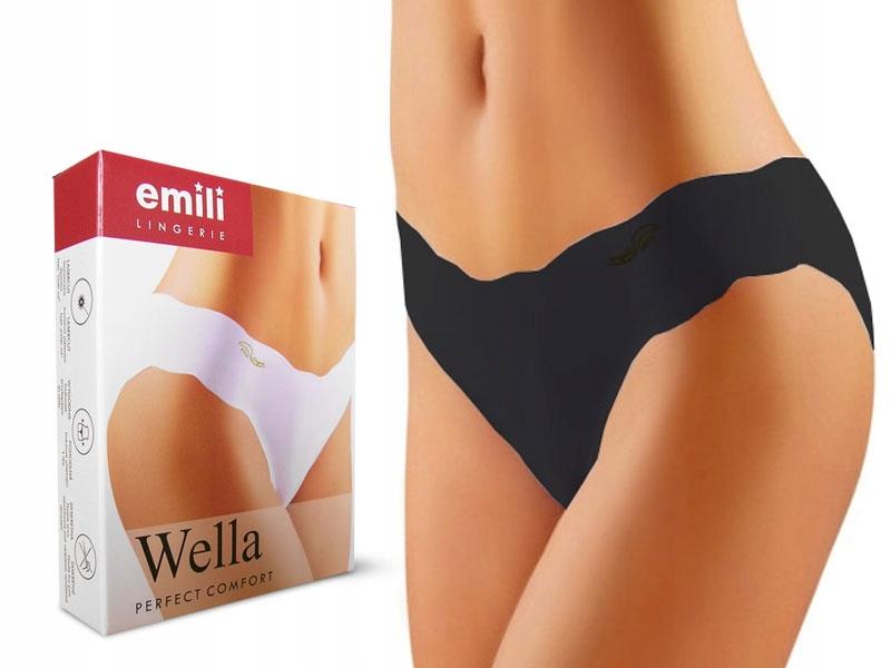 Figi niewidoczne pod ubraniem Emili Wella laser *s
