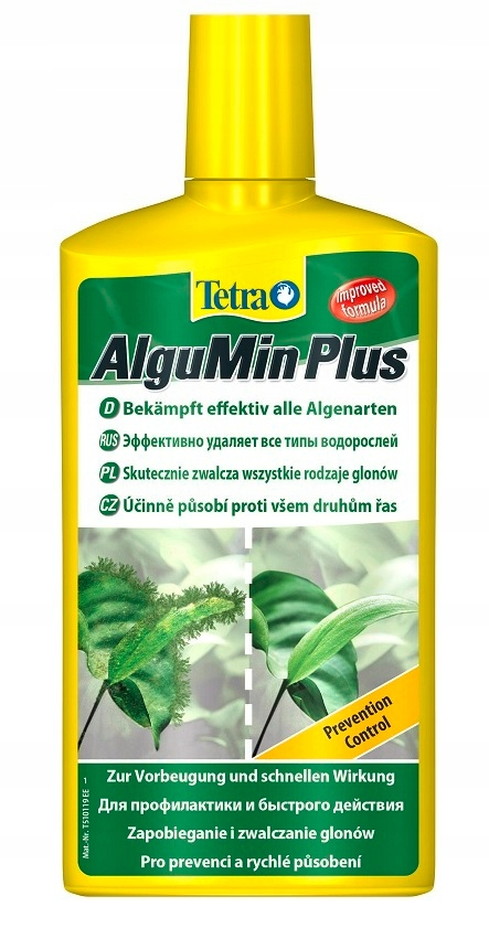 Tetra AlguMin Plus 500ml ŚRODEK NA GLONY ANTYGLON