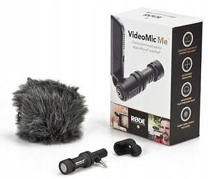 Купить RODE VideoMic ME Микрофон для СМАРТФОНОВ, ТЕЛЕФОНОВ на Otpravka - цены и фото - доставка из Польши и стран Европы в Украину.