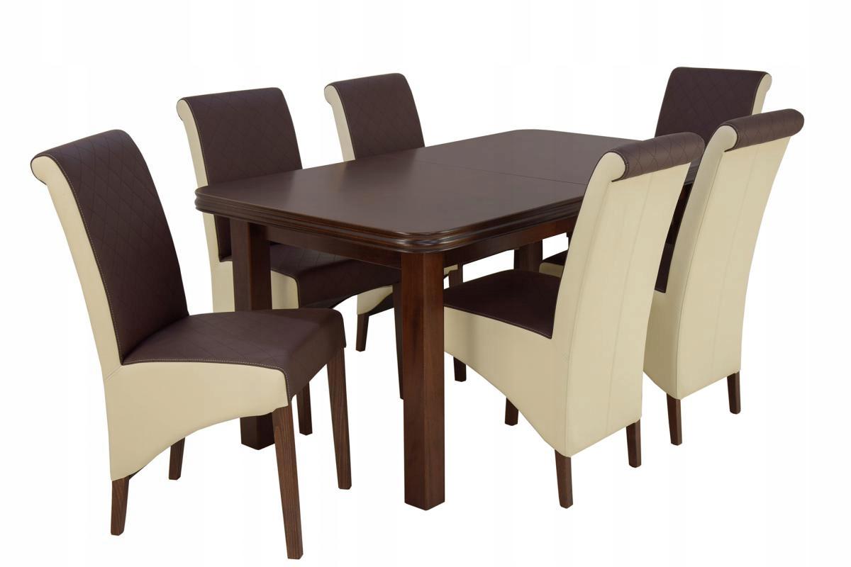 6 stoličkami, čalúnený nábytok A17+pracovný balík 5 (90x160/200)