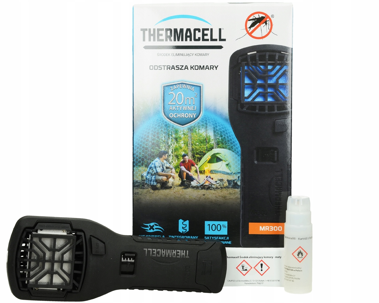 MOSQUITO REPELLER HMYZU PAKOMÁRE THERMACELL MR300