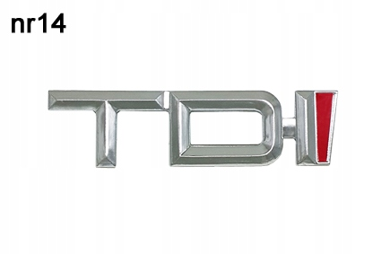 Марка AUDI TDI Эмблема Логотип № 14