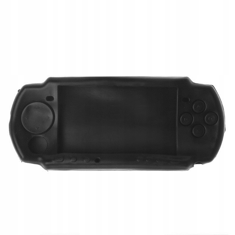 Item SILICONE PROTECTIVE CASE FOR PSP 2000 3000 3004 BLACK