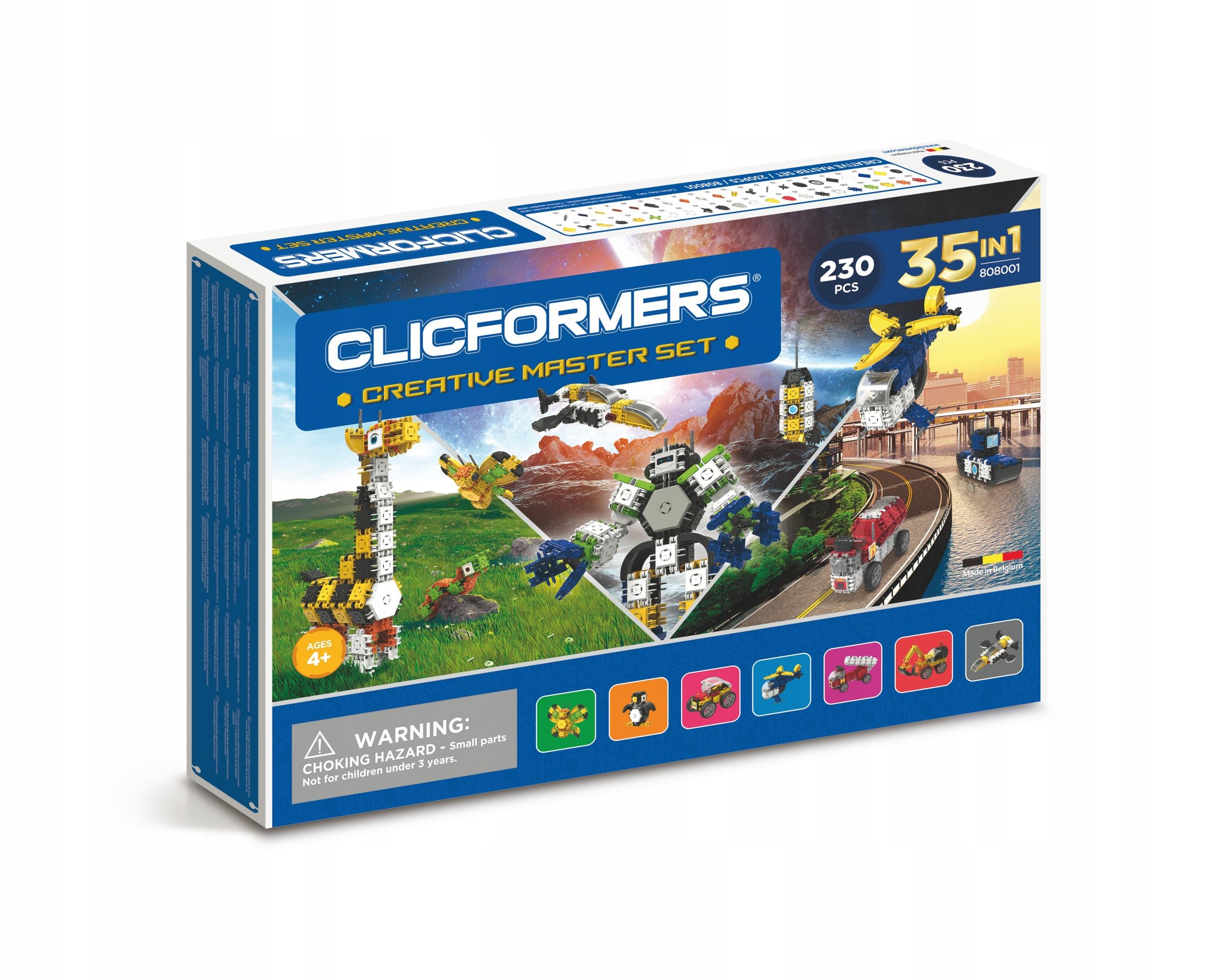 CLICFORMERS Creative Master Set bloky 230 el.