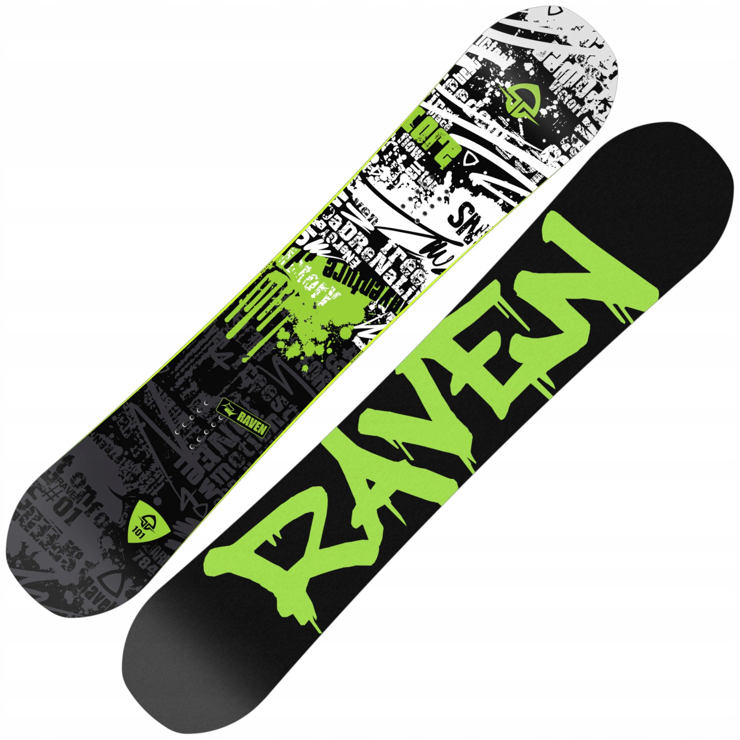 Snowboard RAVEN Core Obmedzené 163kg Široký 2020