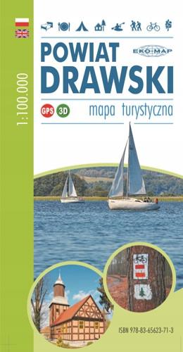 Купить ТУРИСТИЧЕСКАЯ КАРТА РАЙОН DRAWSKI Цветов!!! Syngio 1100 000 на Eurozakup - цены и фото - доставка из Польши и стран Европы в Украину.