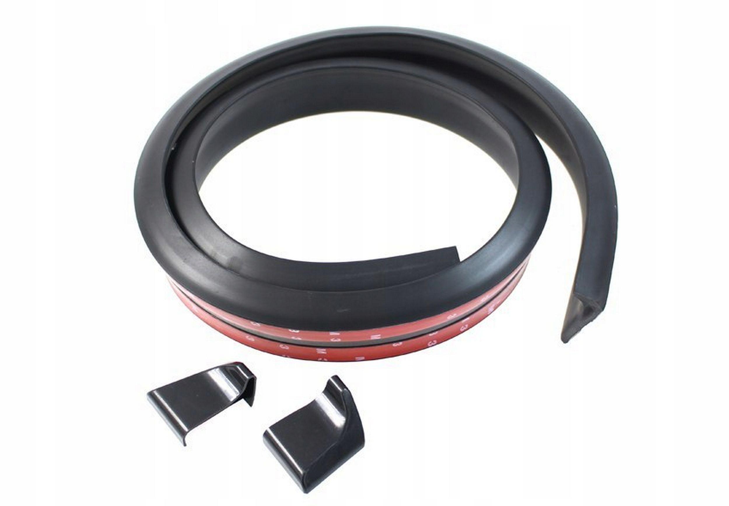 элерон универсальная на клапан лип 150cm  35mm black