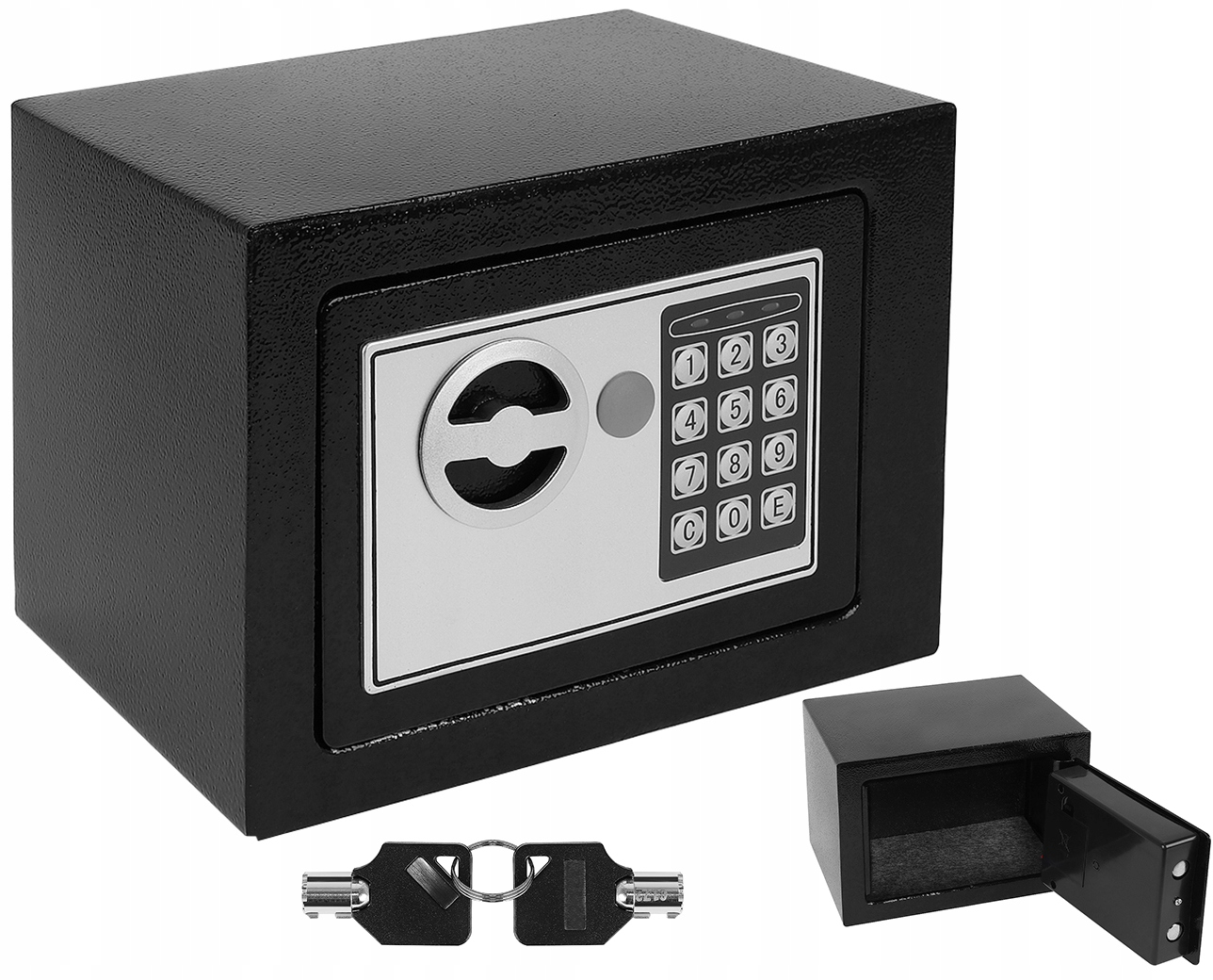 Item A safe Deposit box at the Code, the Electronic Lock of the Key Container
