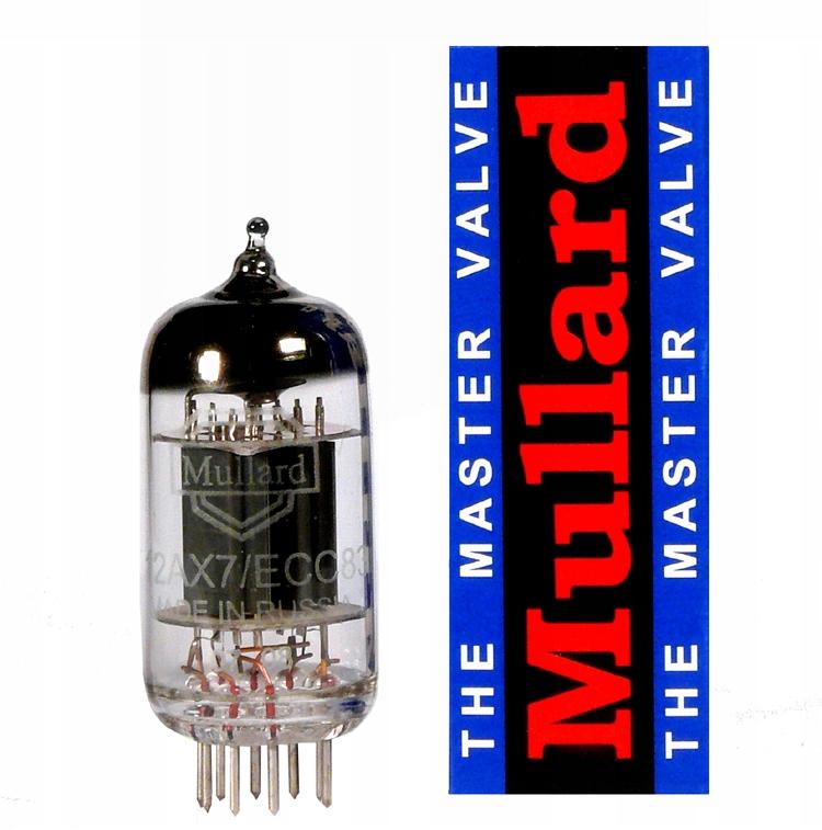 Лампа электронная 12AX7 Mullard