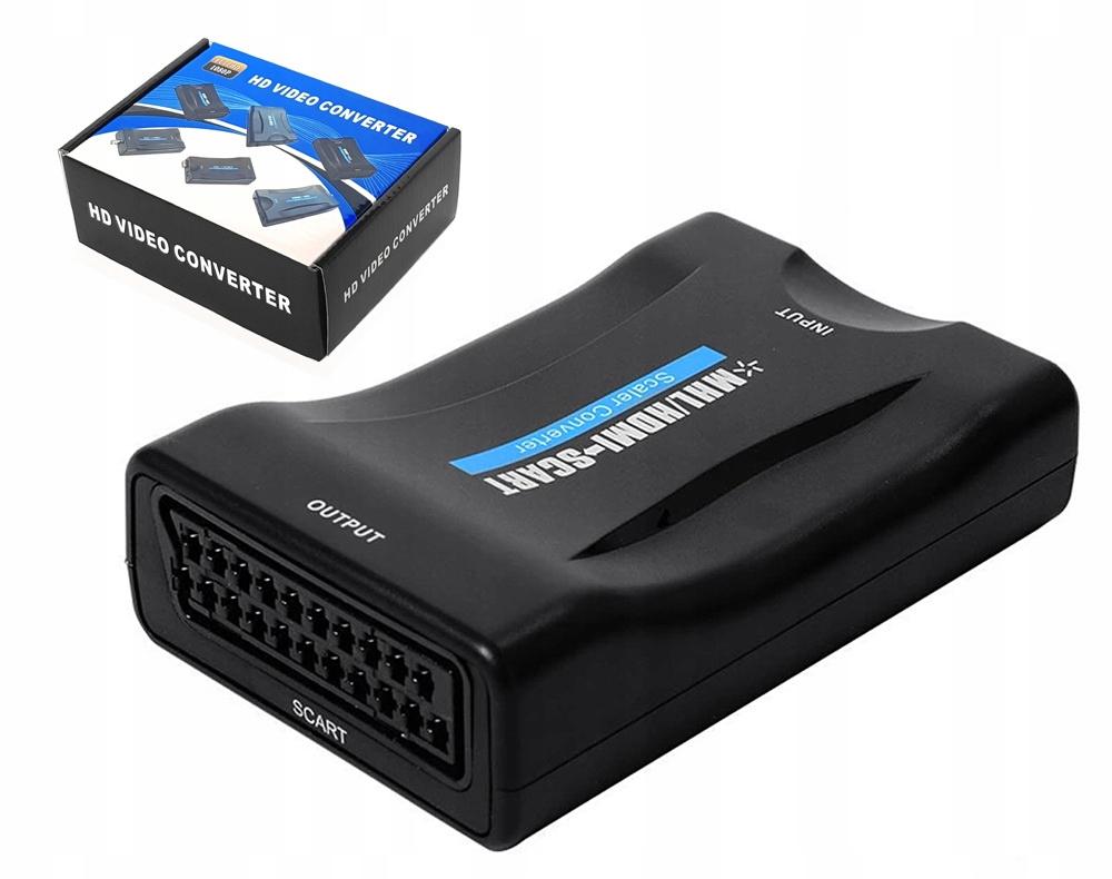 Item ADAPTER CONVERTER HDMI TO AV EURO SCART