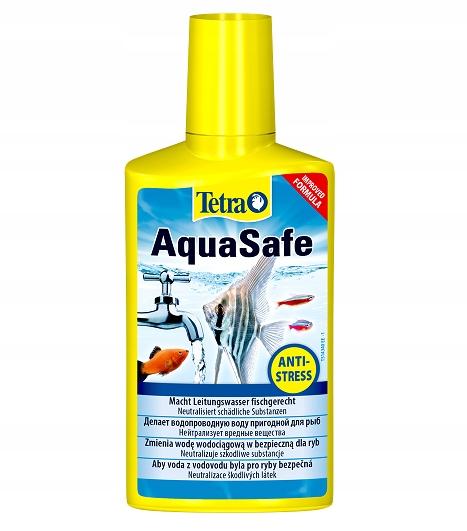 Tetra AquaSafe 100ml UZDATNIACZ WODY DO AKWARIUM