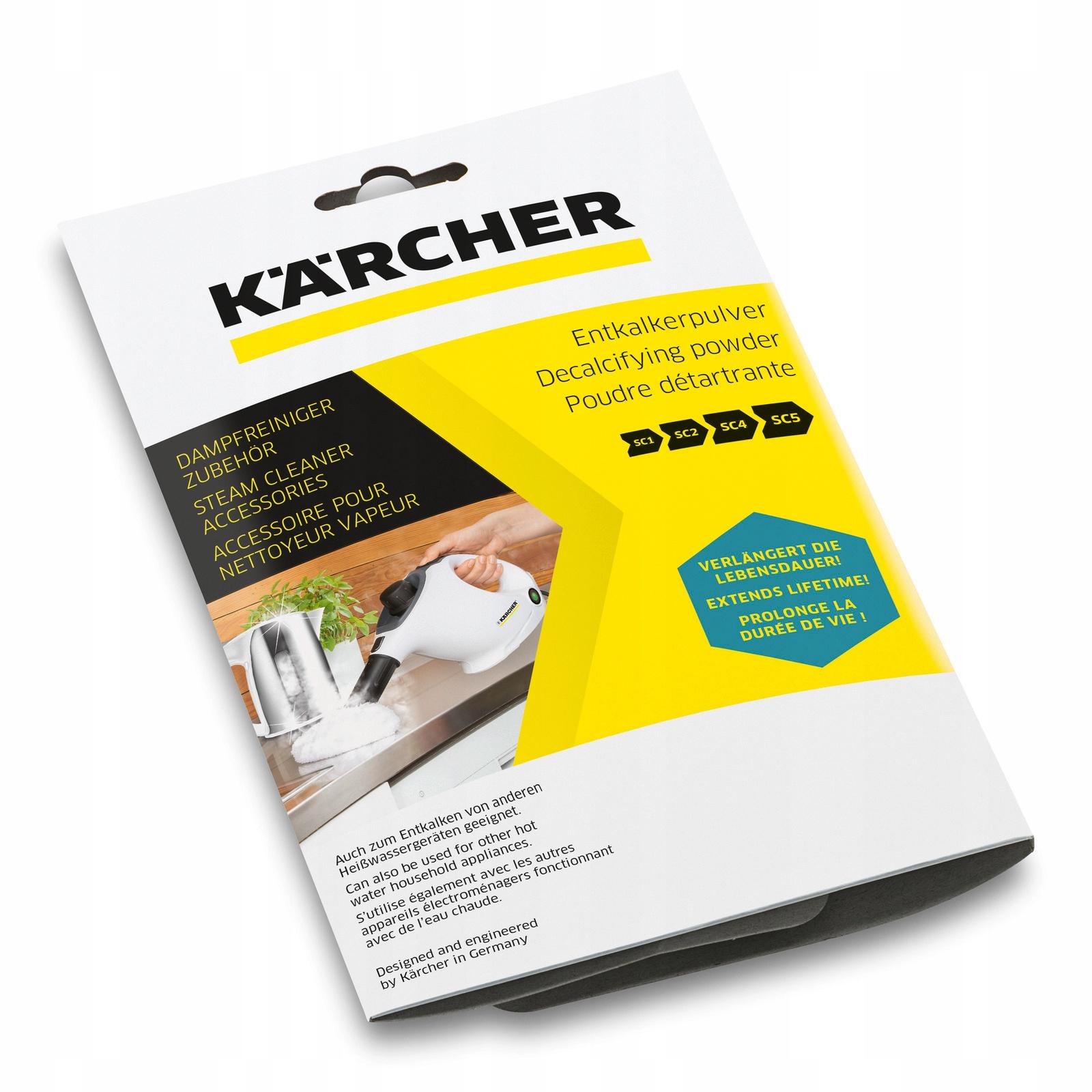 Для удаления накипи KARCHER К PAROWNIC 6.295-987.0 6x17g