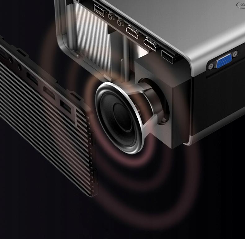 PROJEKTOR OVERMAX MULTIPIC 3.5 LED HD WiFi PROJEKTOR Produkthøyde 8,7 cm